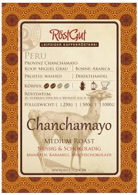 Chanchamayo medium roast